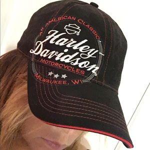 unisex Harley Davidson Hat. Authentic NWOT